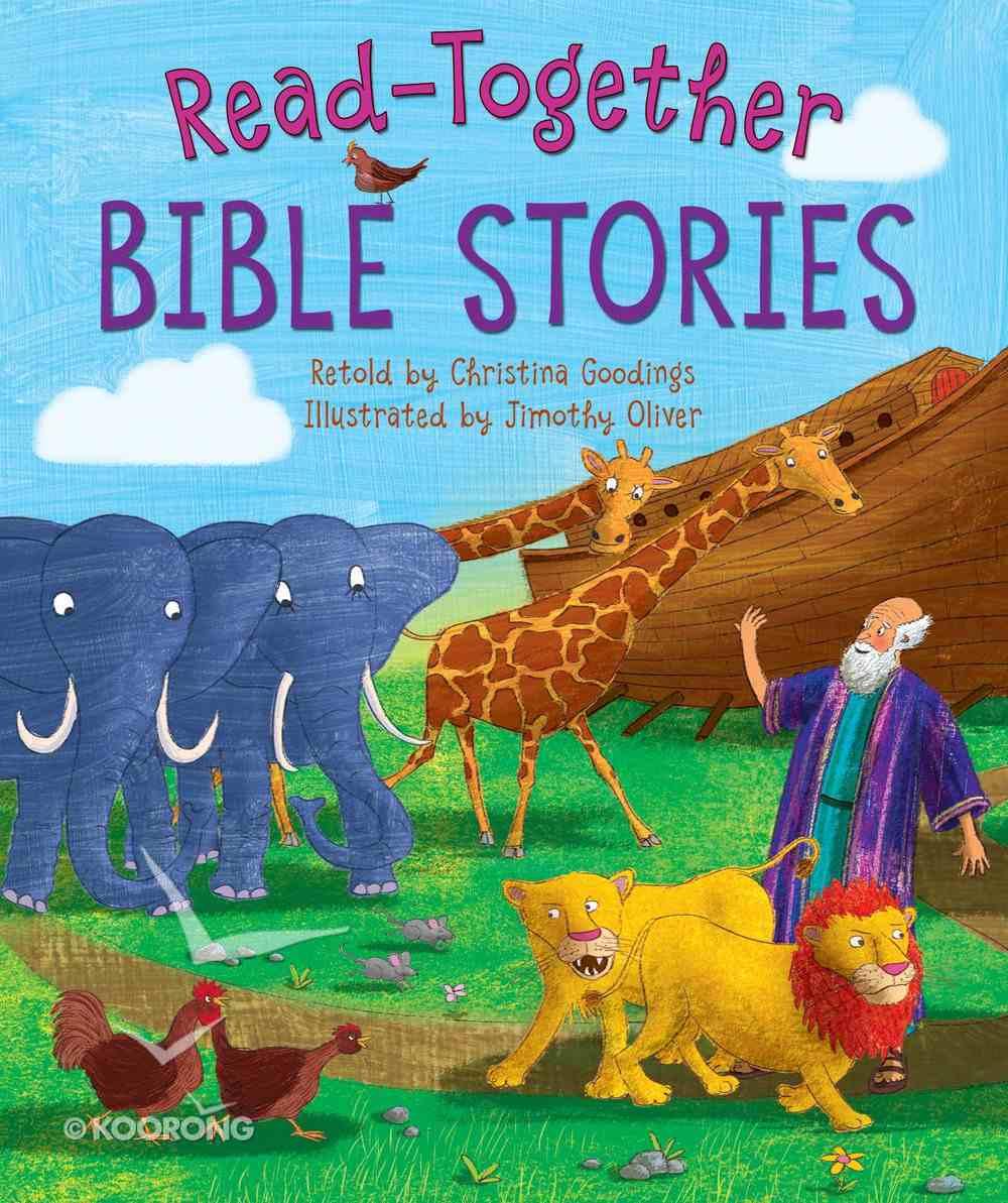 Read-Along Bible Stories Hardback