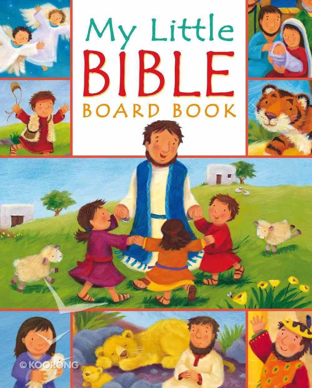 My Little Bible Board Book eBook