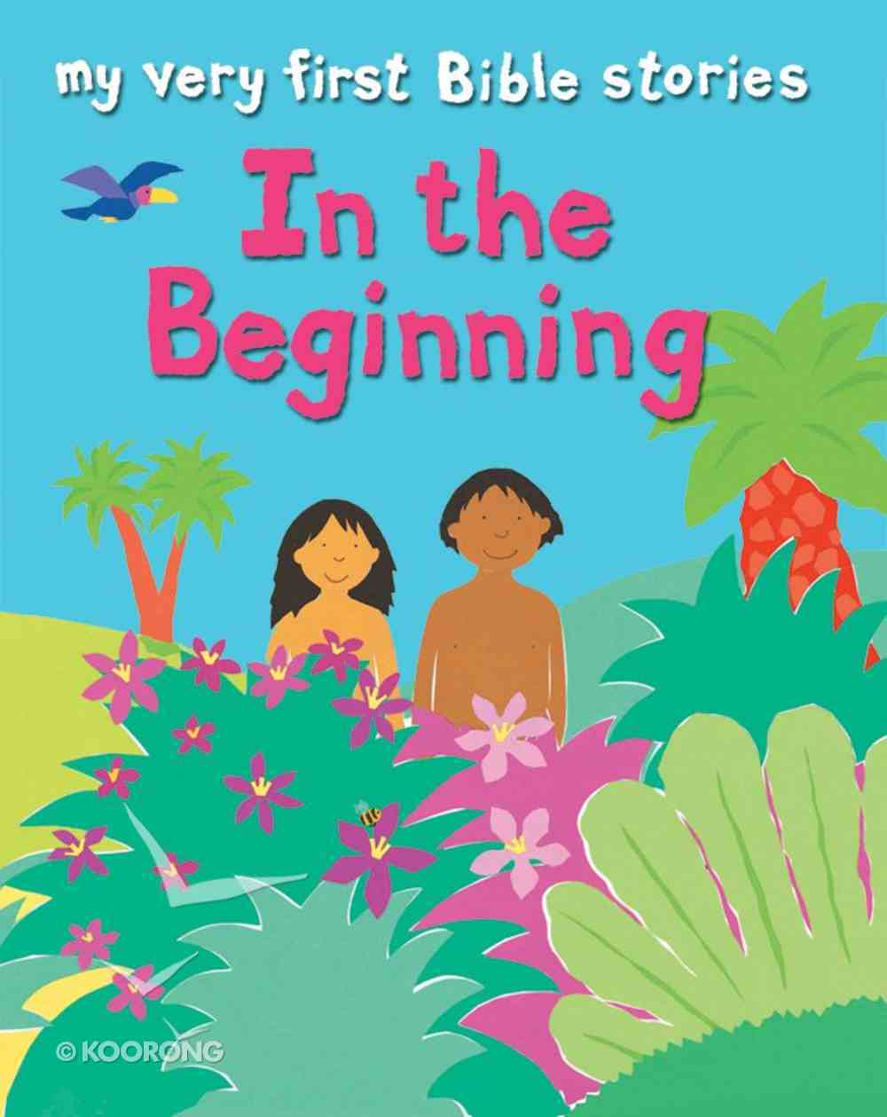 In the Beginning (My Very First Bible Stories Series) eBook