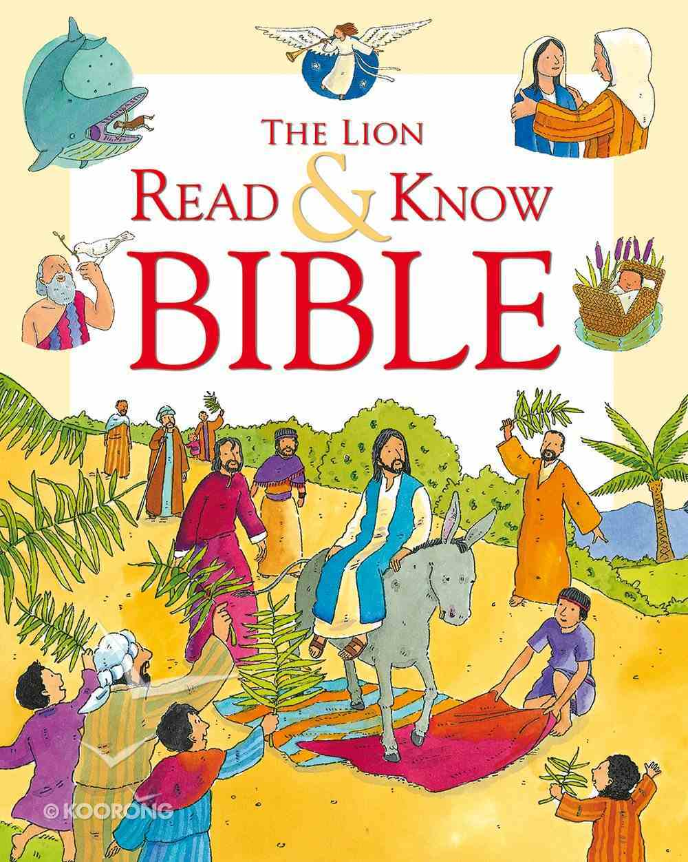The Lion Read and Know Bible Paperback
