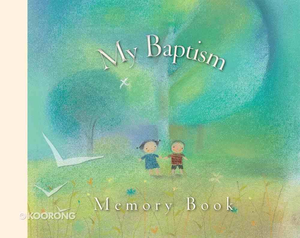 My Baptism Memory Book Hardback