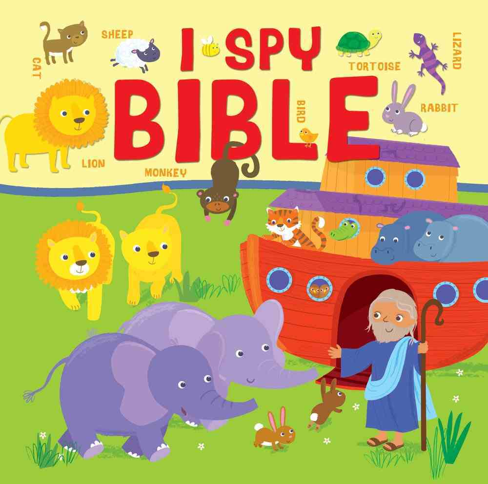 I Spy Bible: A Picture Puzzle Bible For the Very Young Hardback