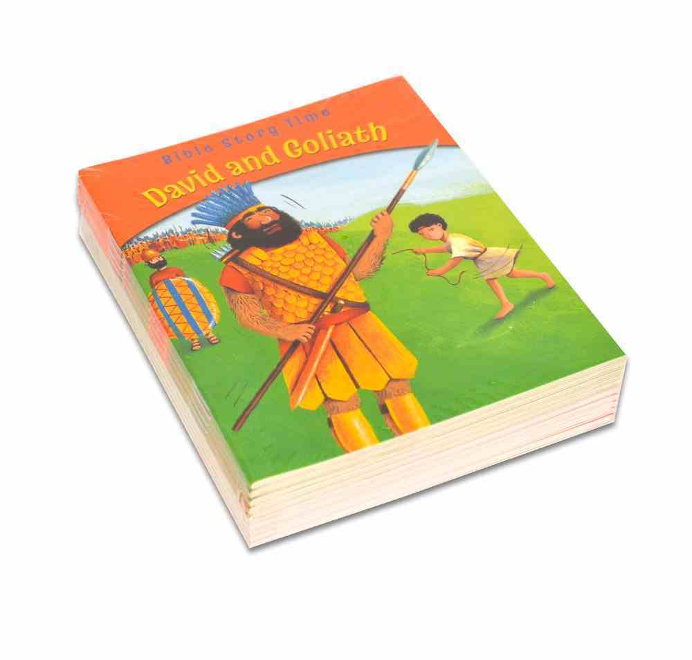 David and Goliath (10 Pack) (Bible Story Time Old Testament Series) Paperback