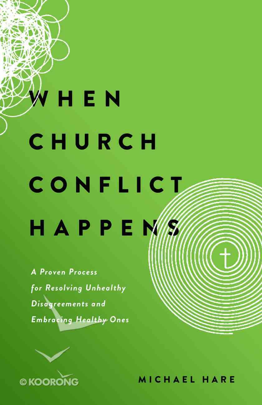 When Church Conflict Happens eBook