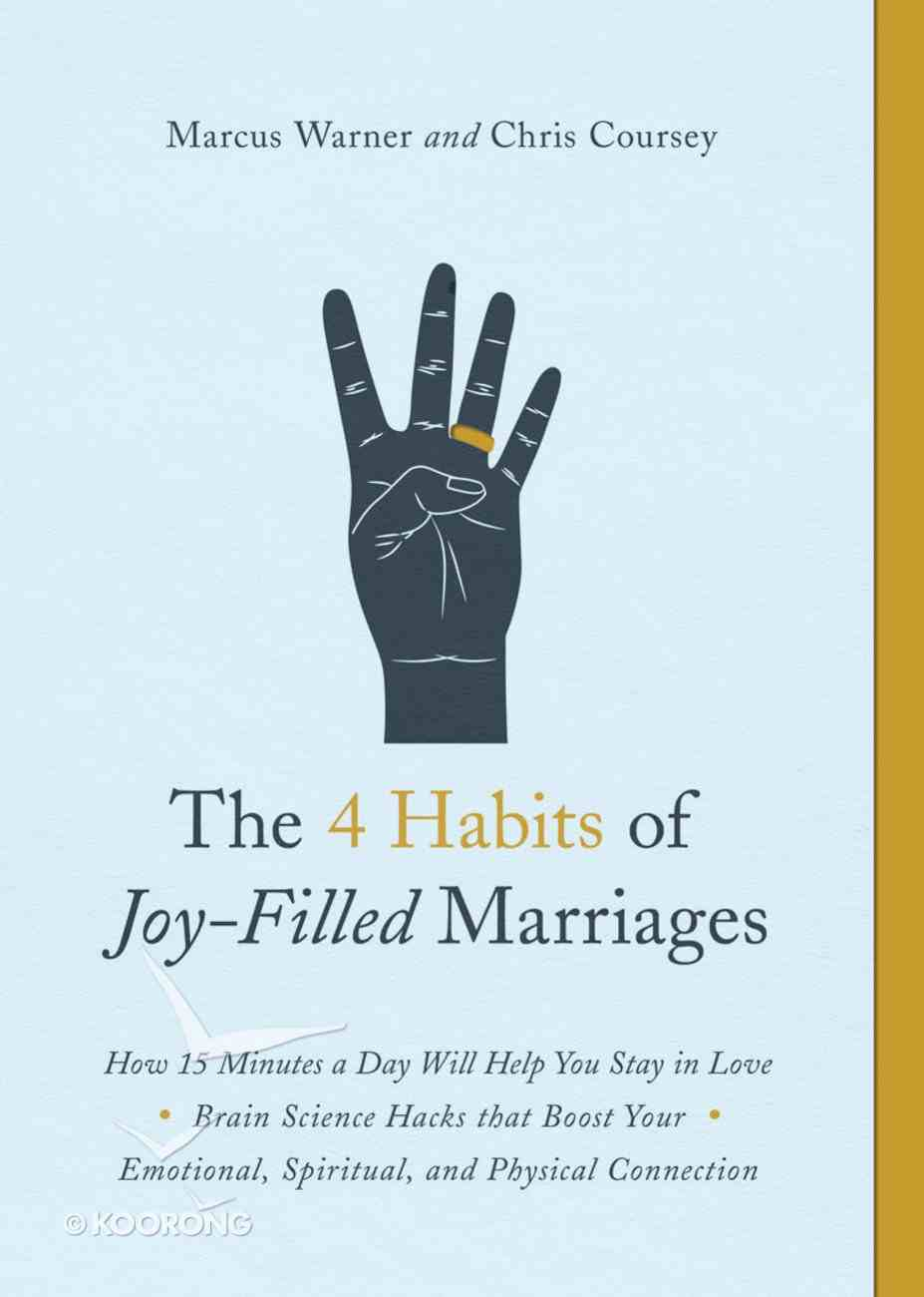 The 4 Habits of Joy-Filled Marriages eBook