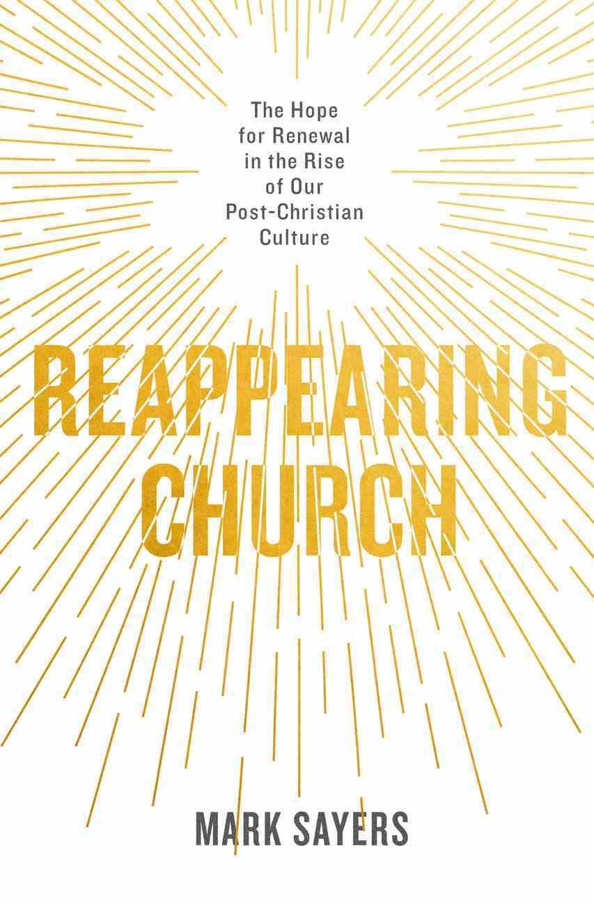 Reappearing Church eBook