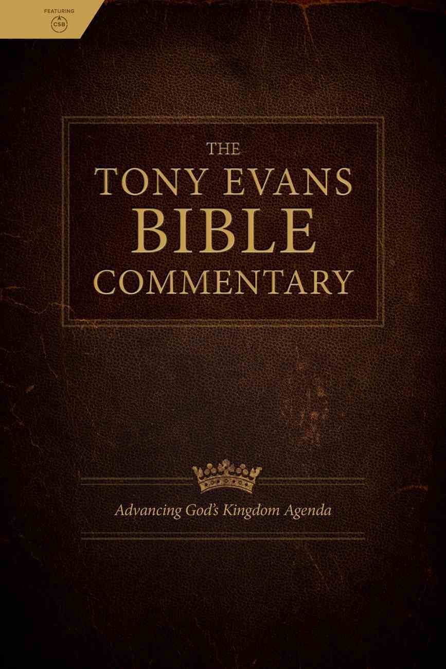 The Tony Evans Bible Commentary eBook