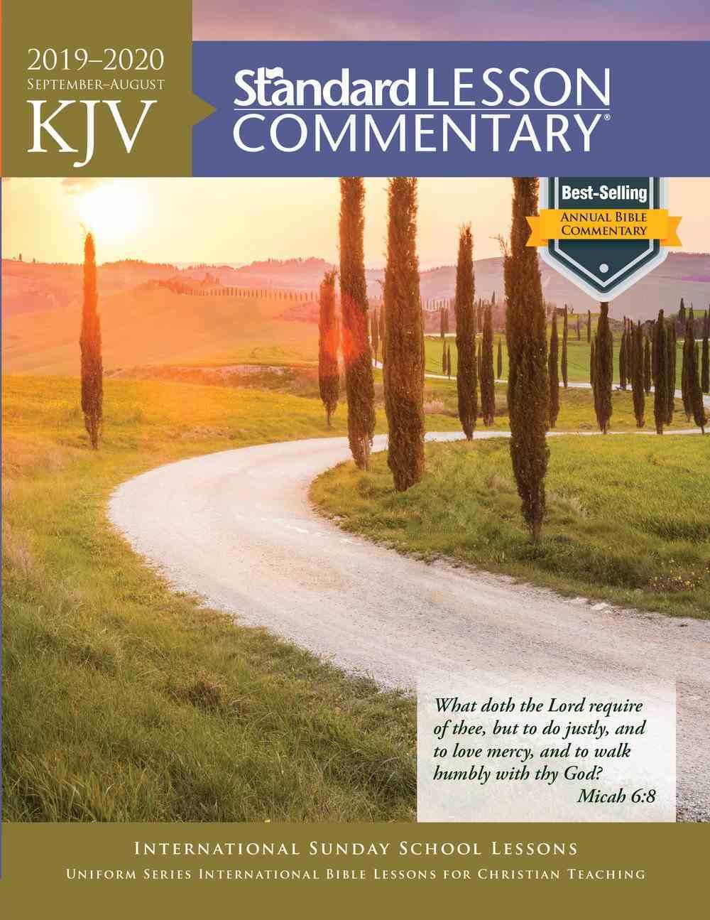 KJV Standard Lesson Commentary 2019-2020 eBook
