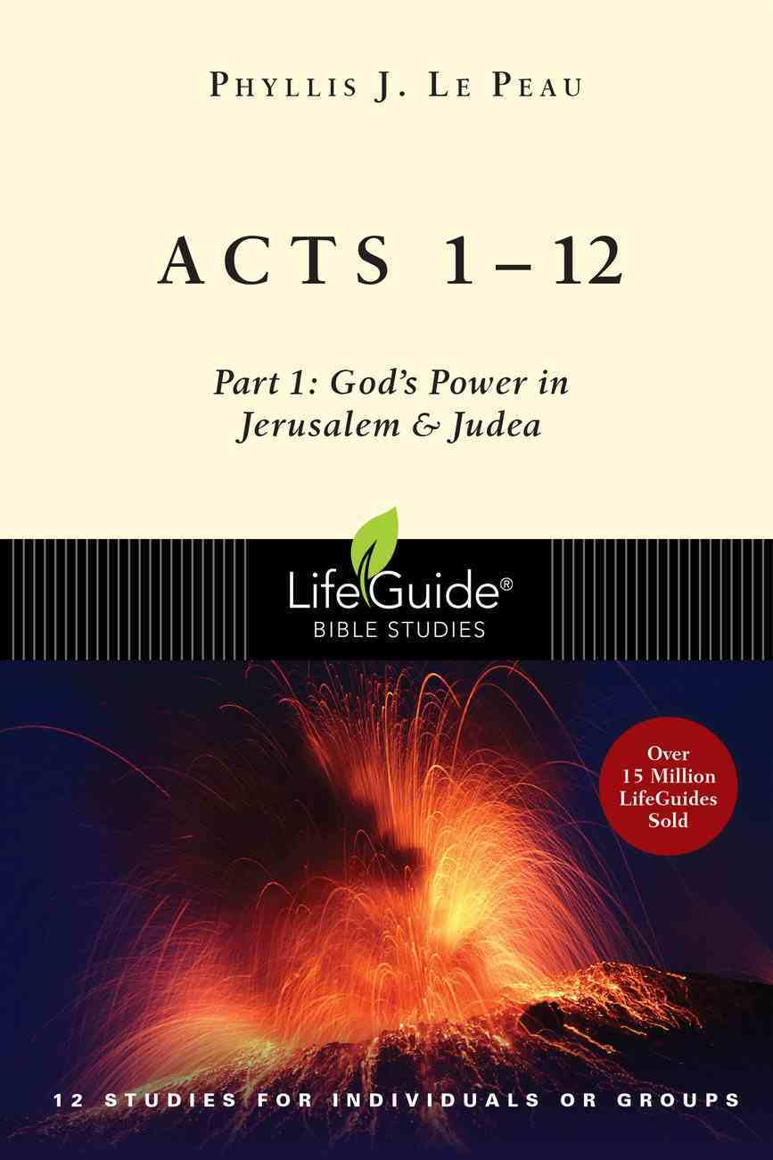 Acts 1?12 (Lifeguide Bible Study Series) eBook