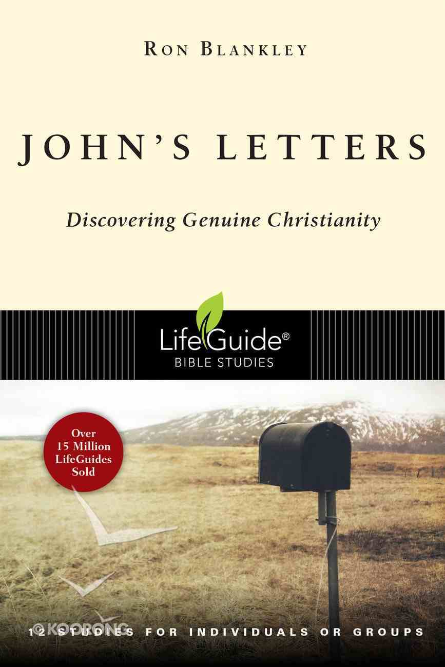John's Letters (Lifeguide Bible Study Series) eBook