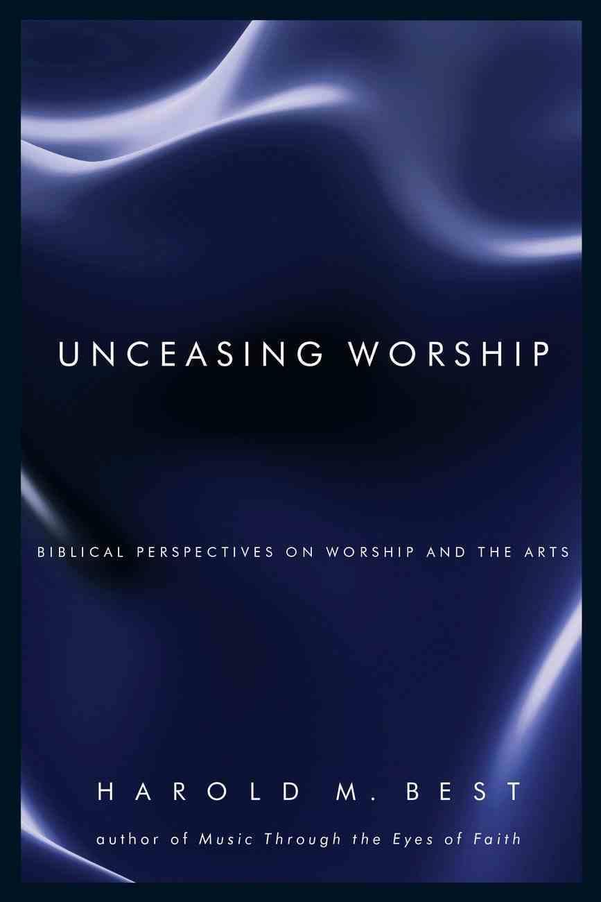 Unceasing Worship eBook