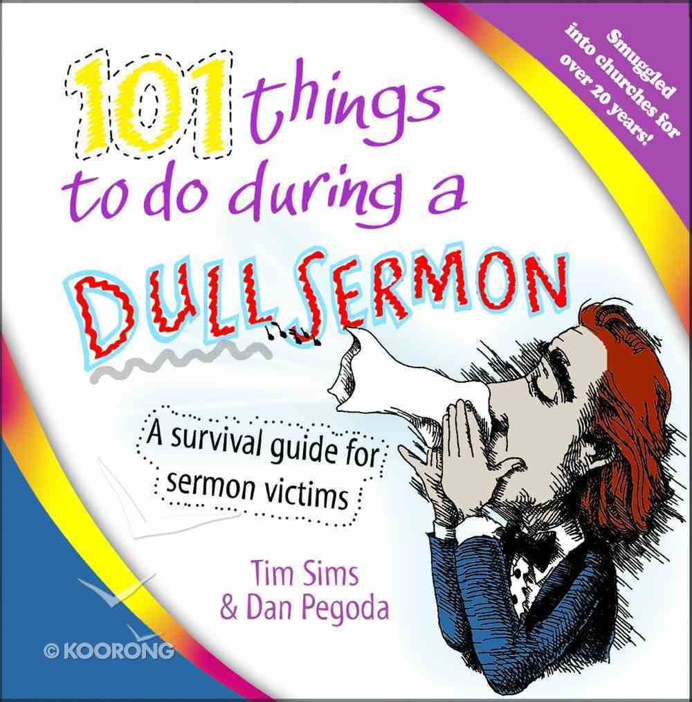 101 Things to Do During a Dull Sermon eBook