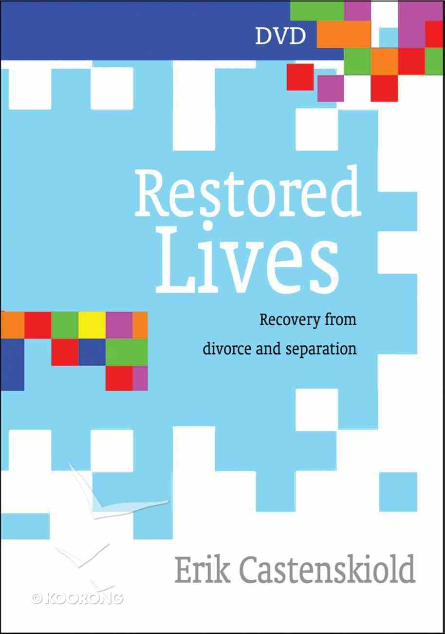 Restored Lives: Recovery From Divorce and Separation (Dvd) DVD