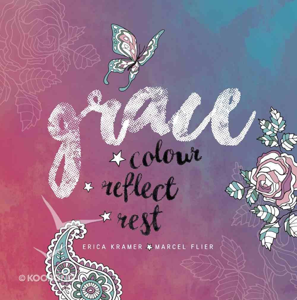 Grace (Adult Coloring Books Series) Hardback