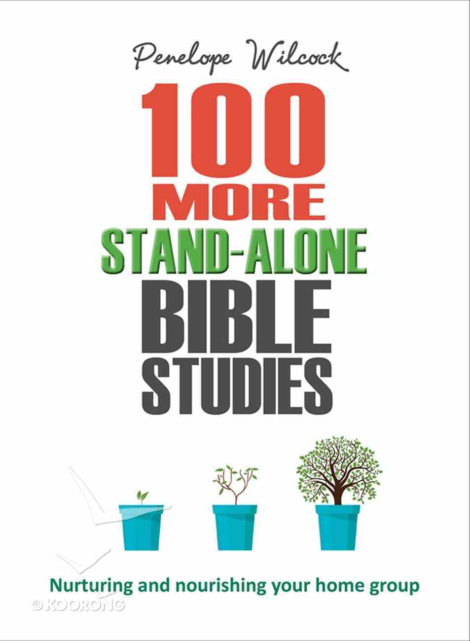 100 More Stand Alone Bible Studies: Nurturing and Nourishing Your Home Group Paperback
