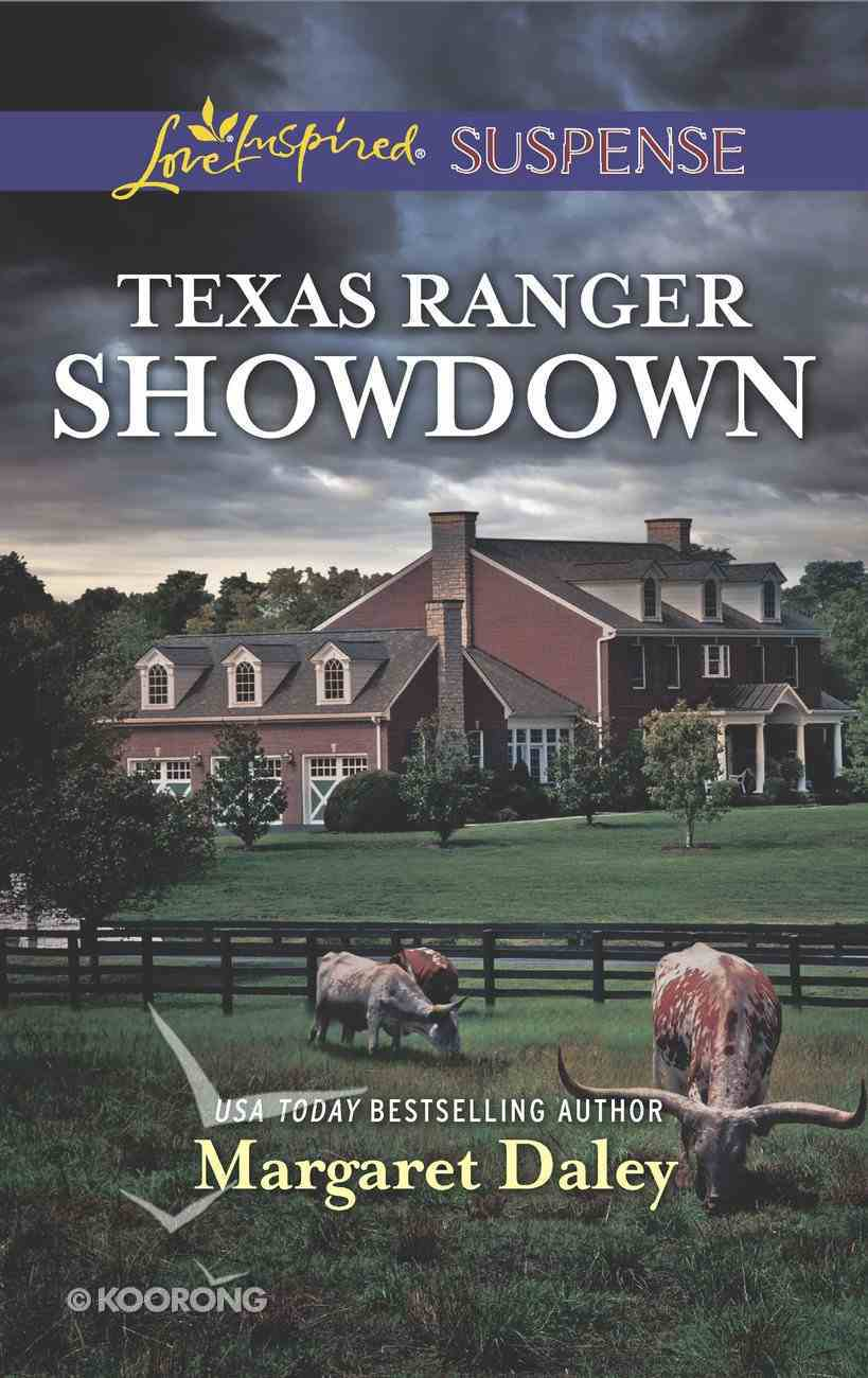 Texas Ranger Showdown (Lone Star Justice) (Love Inspired Suspense Series) Mass Market