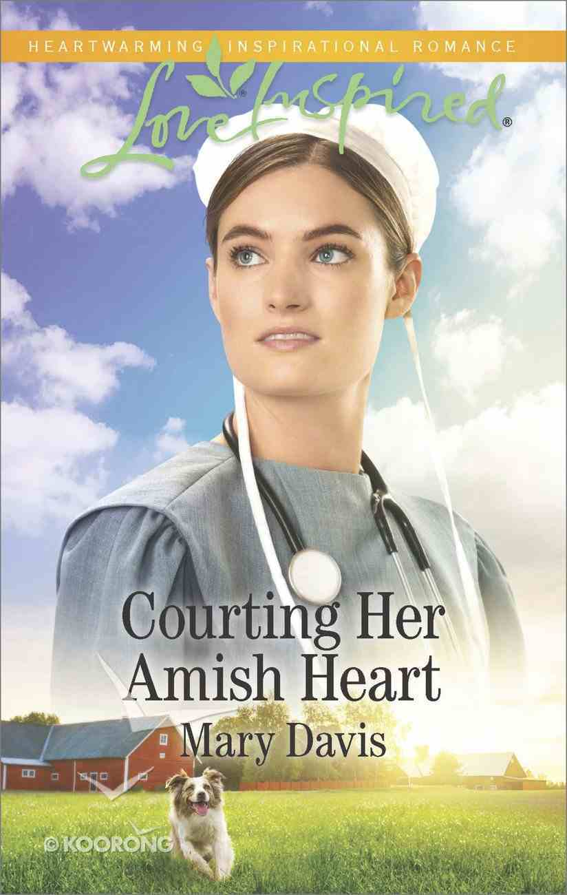 Courting Her Amish Heart (Love Inspired Series) Mass Market
