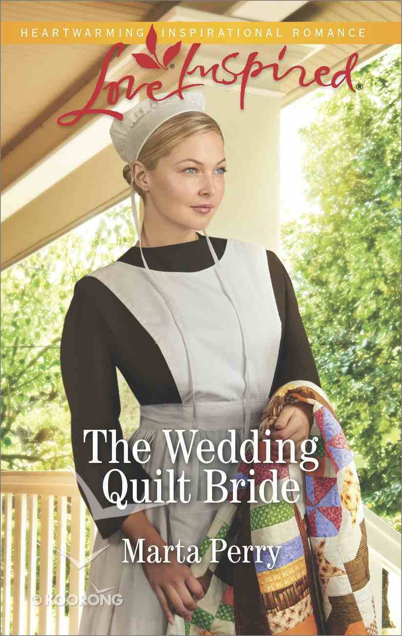 The Wedding Quilt Bride (Brides of Lost Creek) (Love Inspired Series) Mass Market