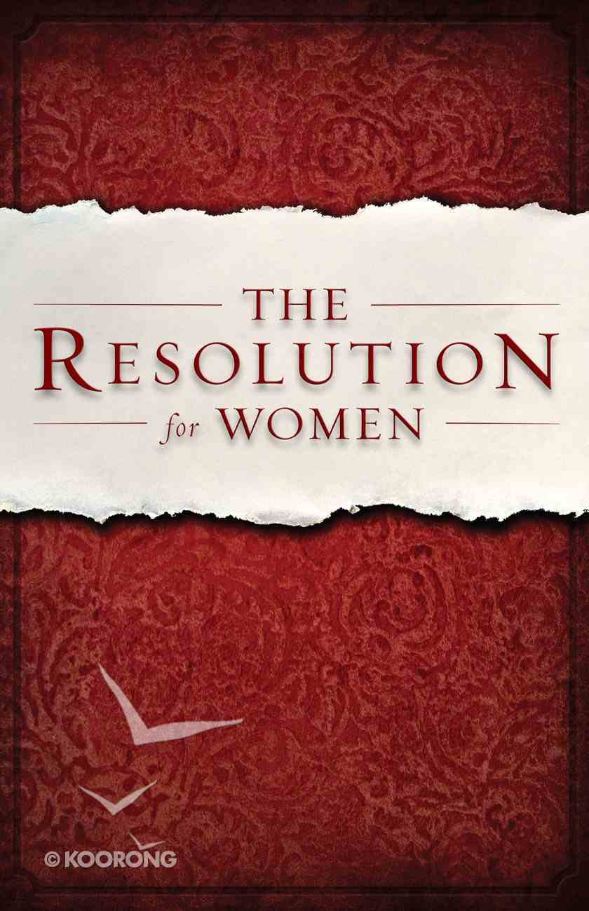 The Resolution For Women (Unabridged, 6cds) (Courageous Series) CD