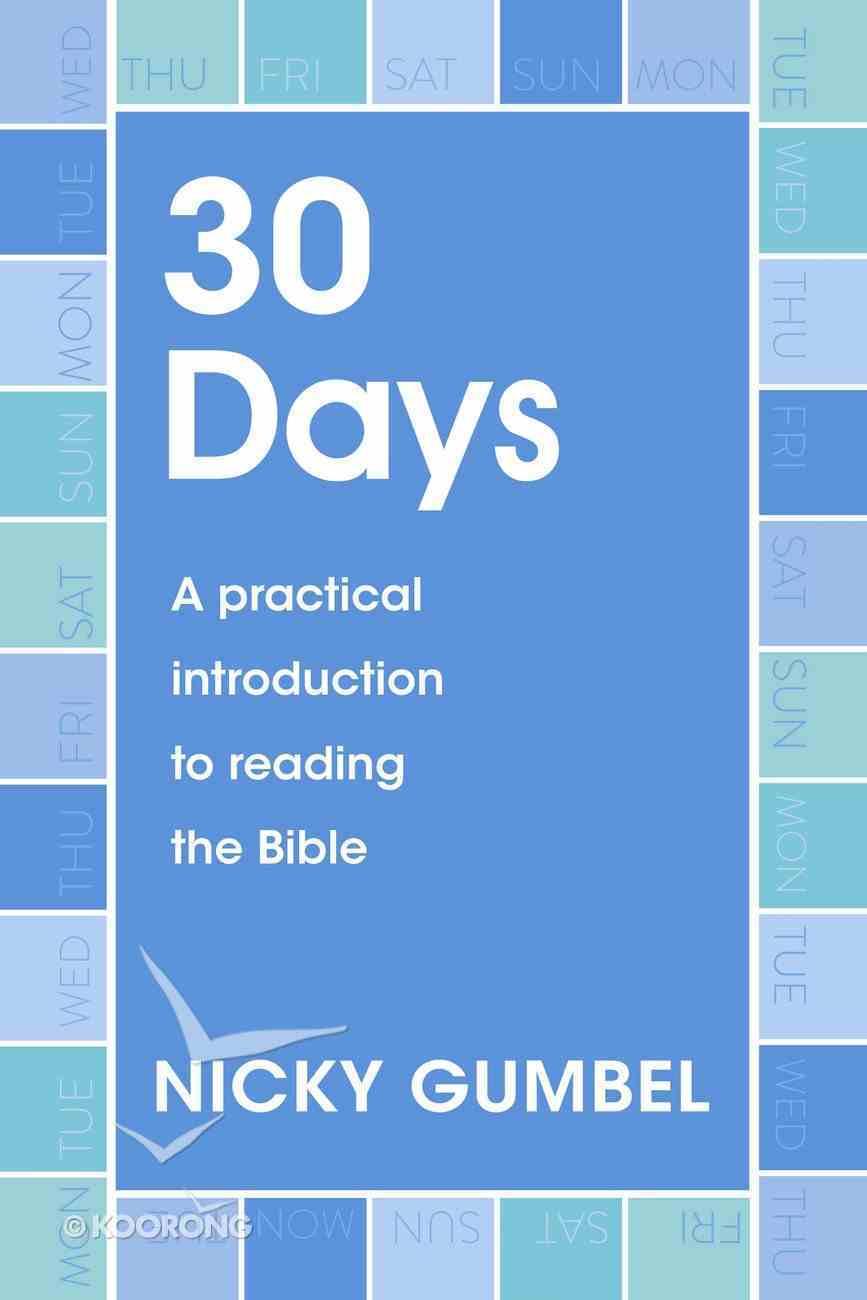 30 Days (Alpha Course) eBook