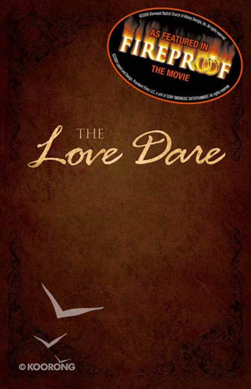 The Love Dare (Unabridged, 5cds) CD