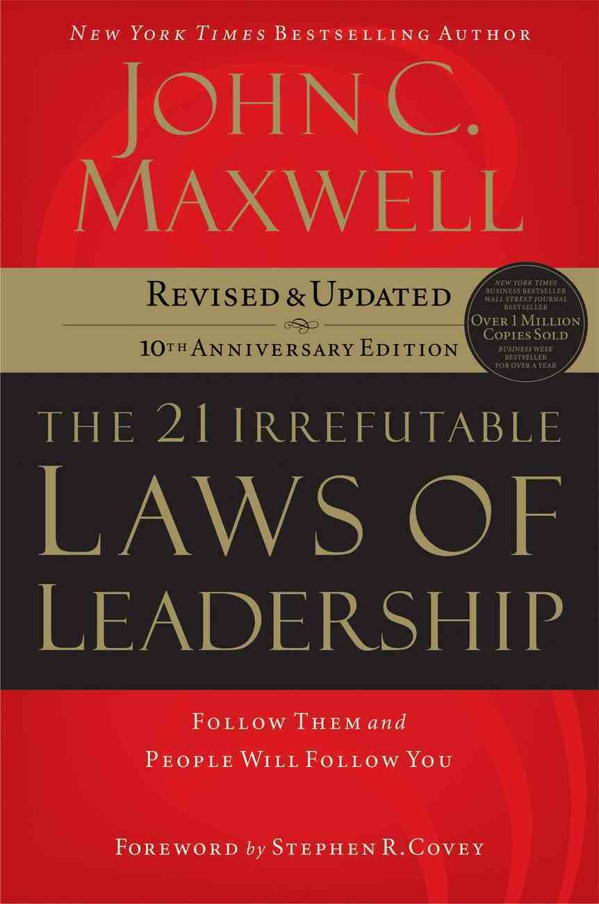 The 21 Irrefutable Laws of Leadership (Abridged, 3 Cds) CD
