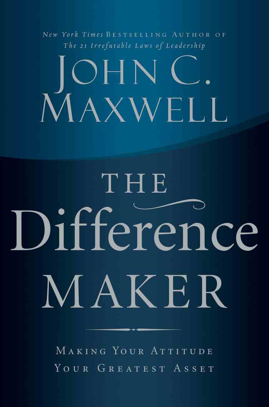 The Difference Maker (Abridged, 3 Cds) CD