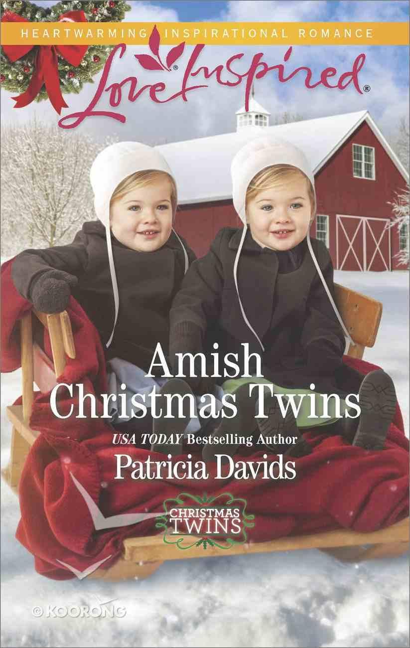 Amish Christmas Twins (Christmas Twins) (Love Inspired Series) eBook