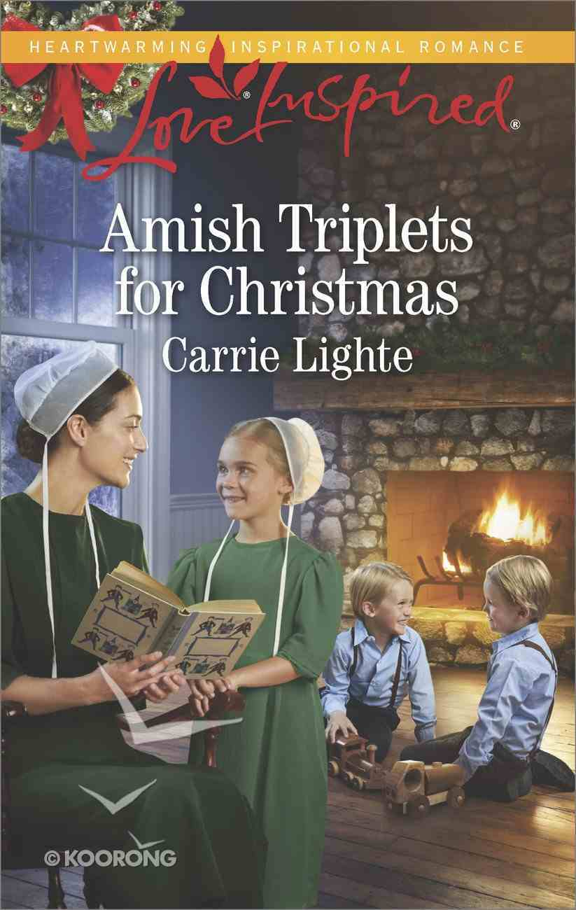 Amish Triplets For Christmas (Love Inspired Series) eBook