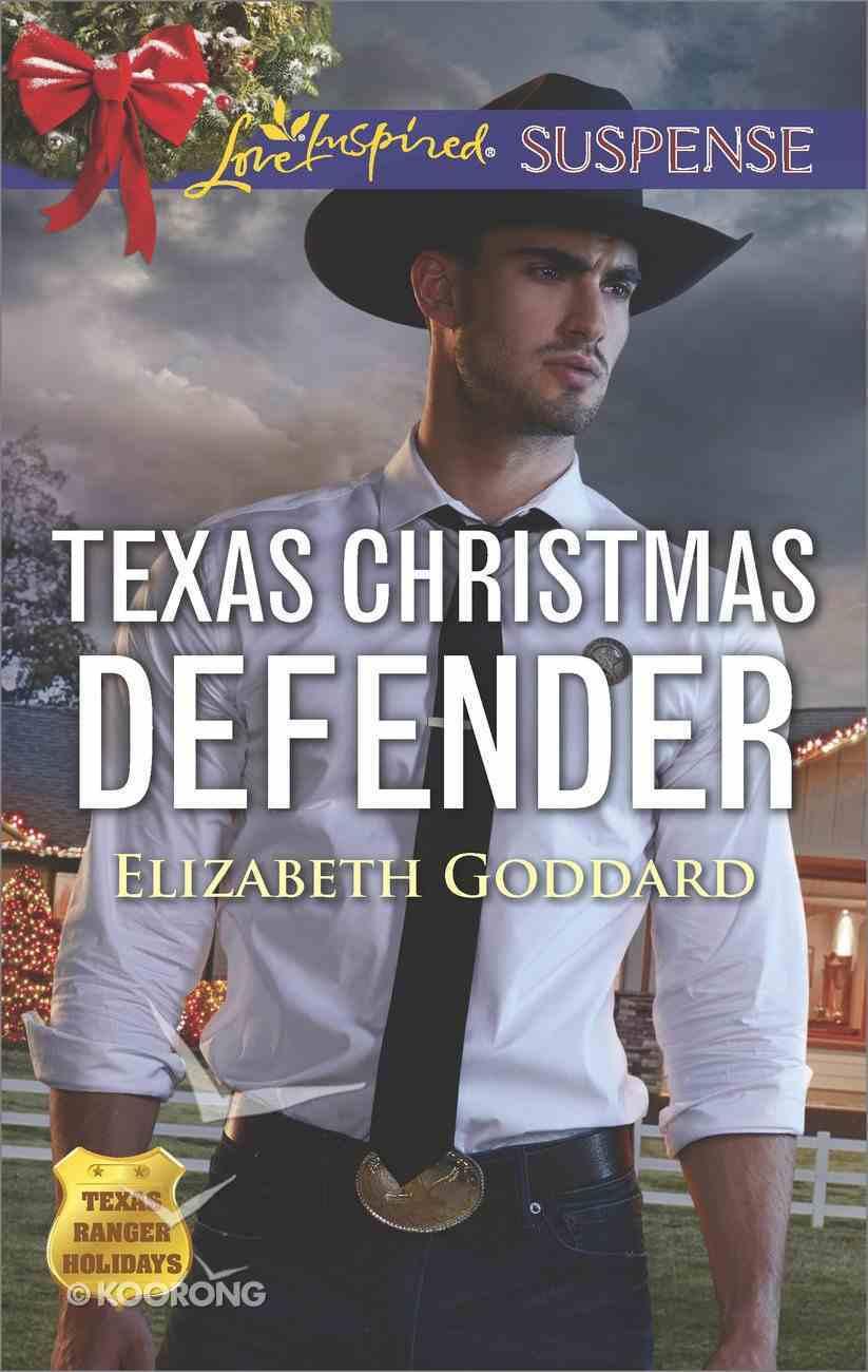 Texas Christmas Defender (Texas Ranger Holiday) (Love Inspired Suspense Series) eBook