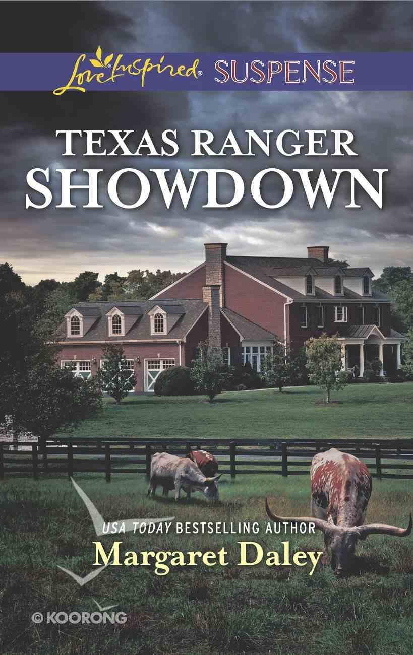 Texas Ranger Showdown (Lone Star Justice) (Love Inspired Suspense Series) eBook