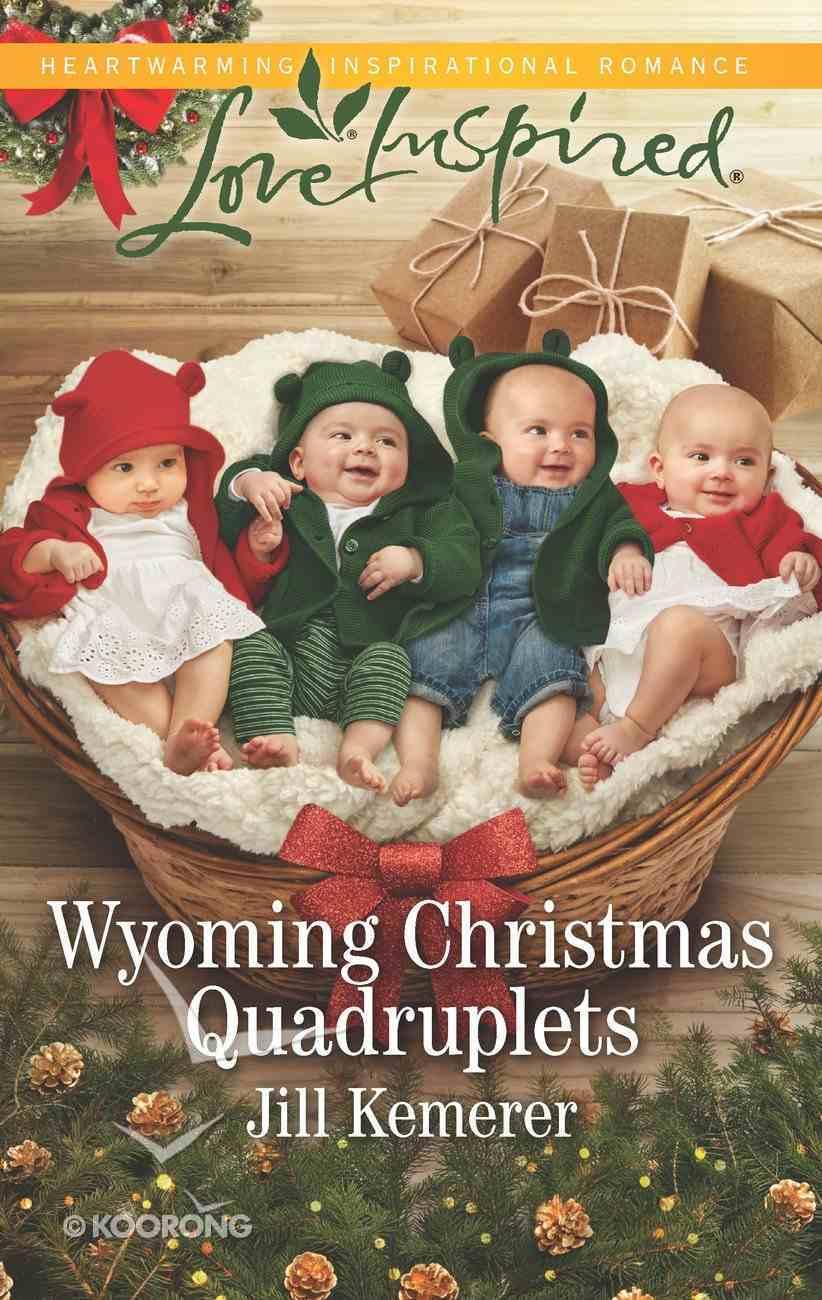 Wyoming Christmas Quadruplets (Wyoming Cowboys) (Love Inspired Series) eBook