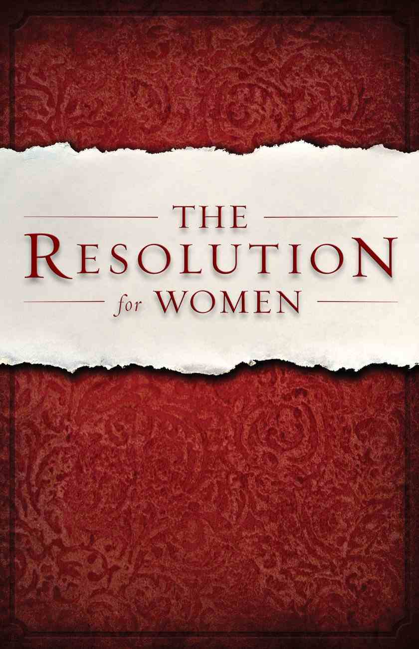 The Resolution For Women (Unabridged, Mp3) CD