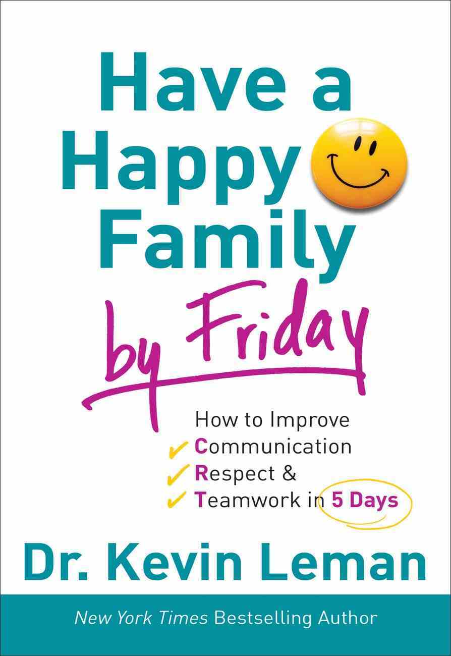 Have a Happy Family By Friday (Unabridged, 7 Cds) CD