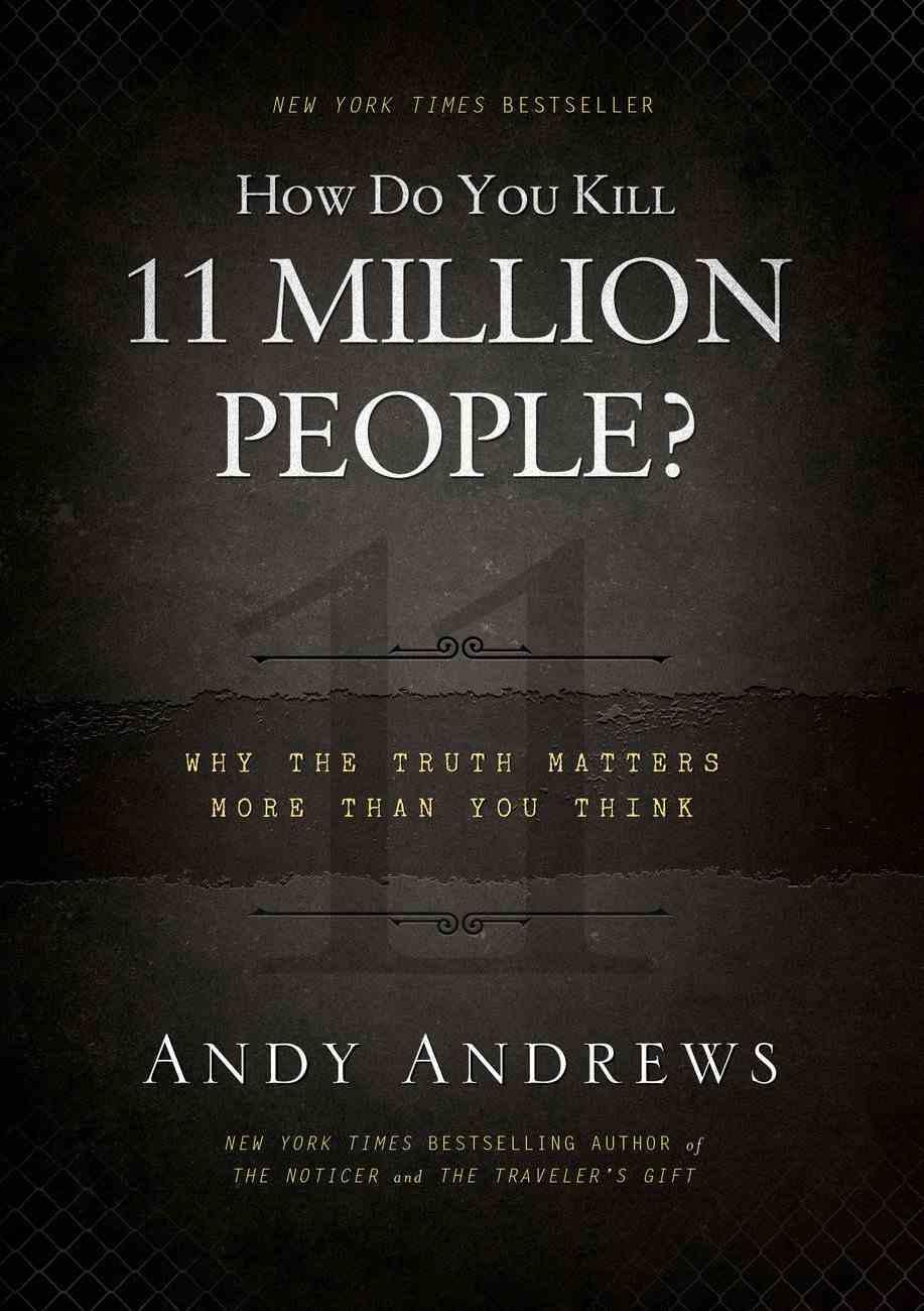 How Do You Kill 11 Million People? (Unabridged, Mp3) CD