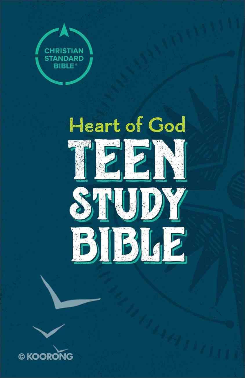 CSB Heart of God Teen Study Bible eBook
