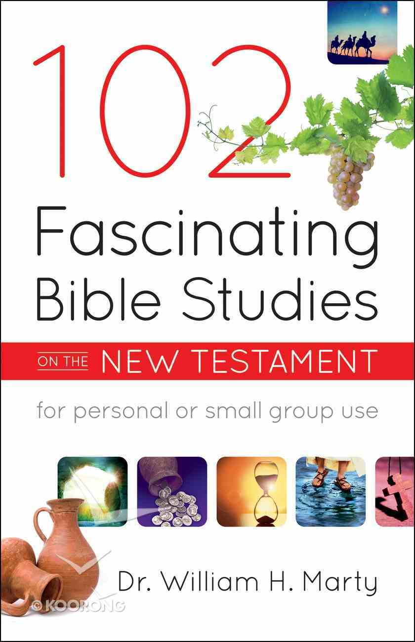 102 Fascinating Bible Studies on the New Testament eBook