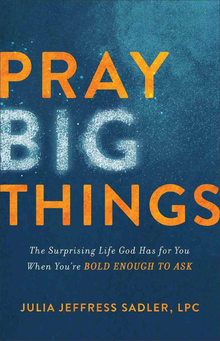 Pray Big Things eBook