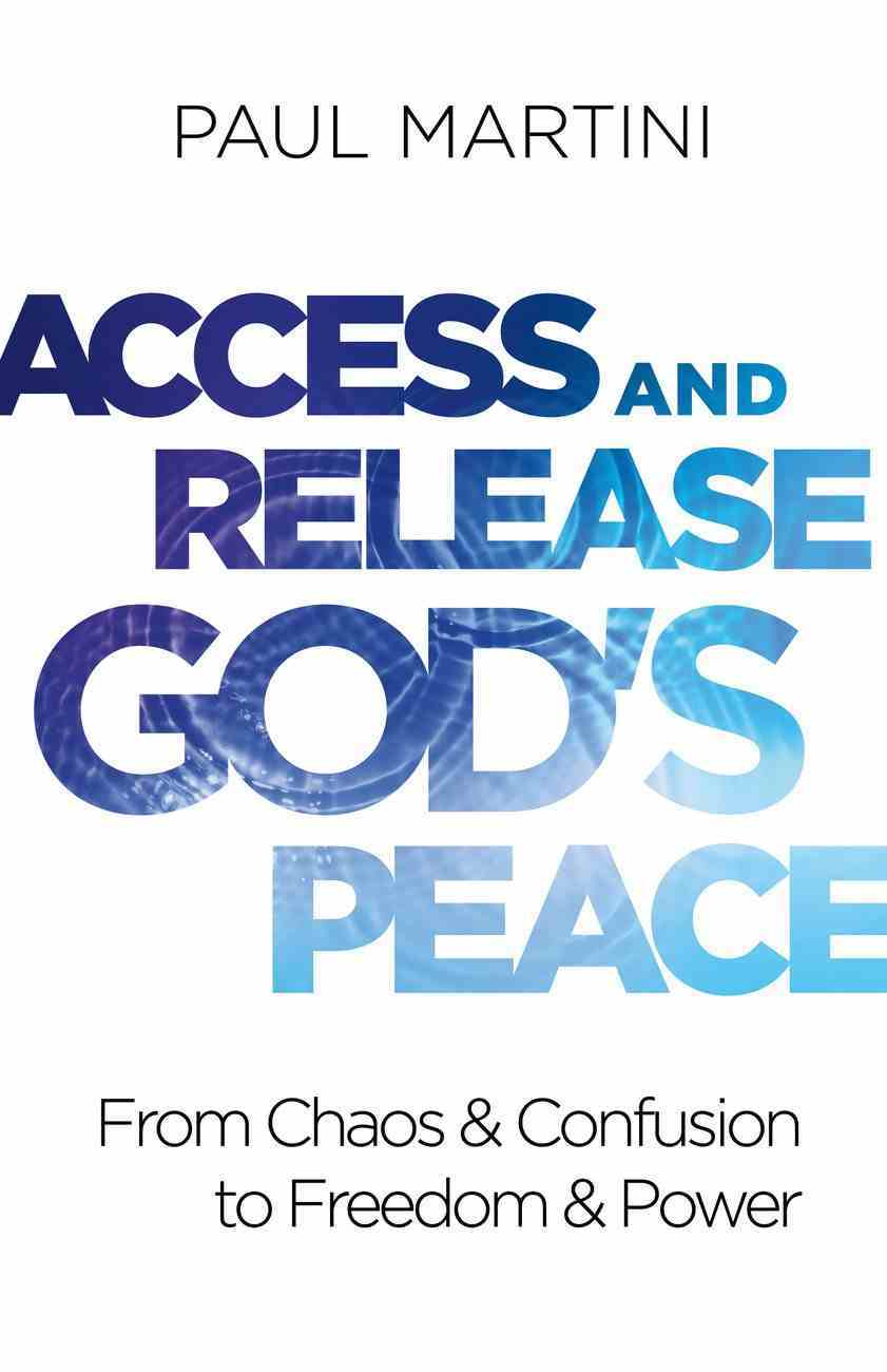 Access and Release God's Peace eBook