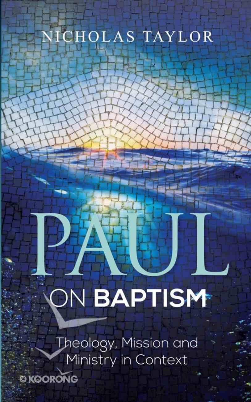 Paul on Baptism eBook