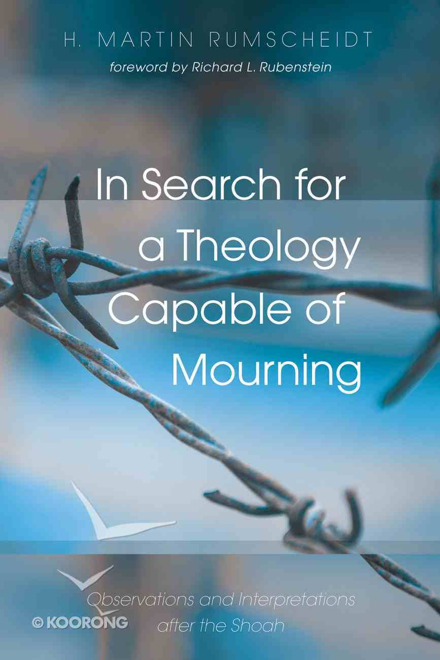 In Search For a Theology Capable of Mourning eBook