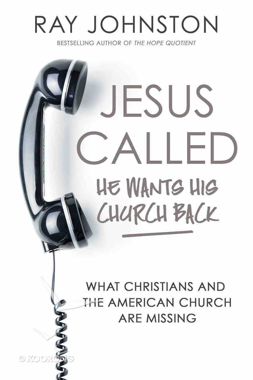 Jesus Called - He Wants His Church Back (Unabridged, 7 Cds) CD