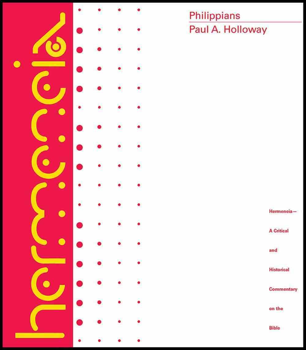 Philippians (Hermeneia Series) eBook