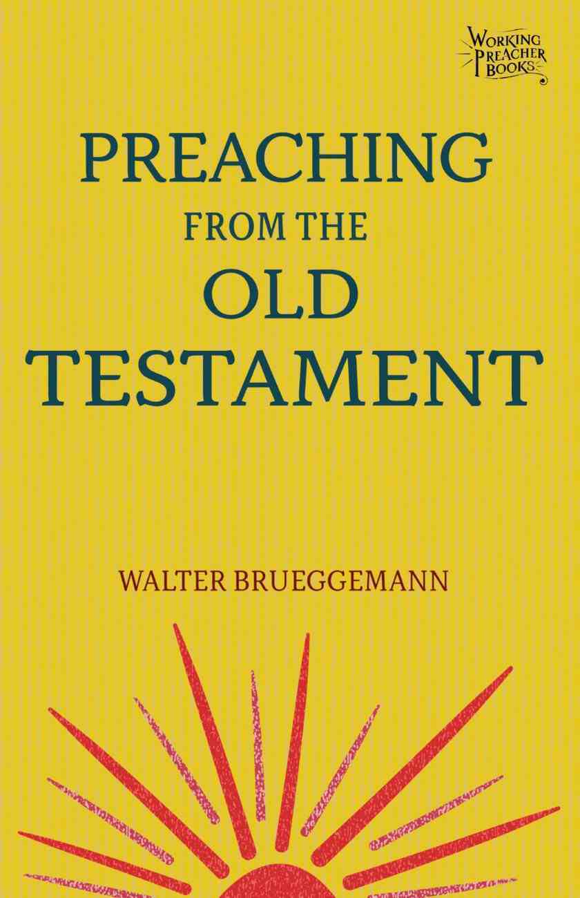 Preaching From the Old Testament eBook