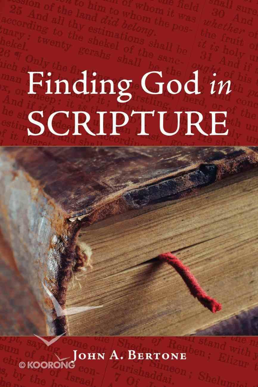 Finding God in Scripture eBook