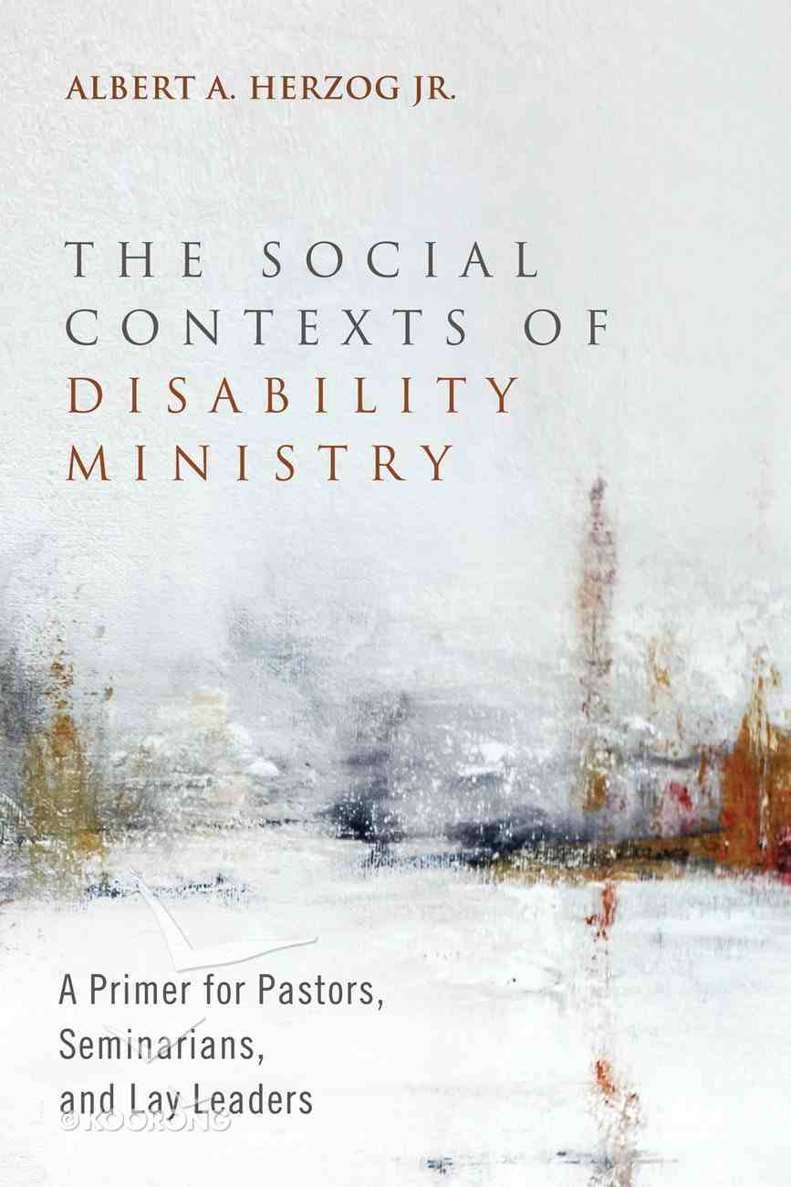 The Social Contexts of Disability Ministry eBook