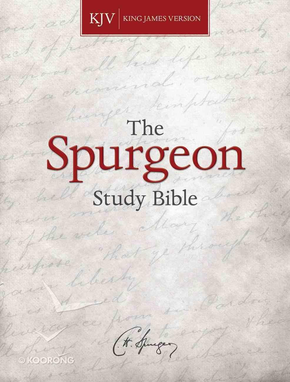 KJV Spurgeon Study Bible eBook