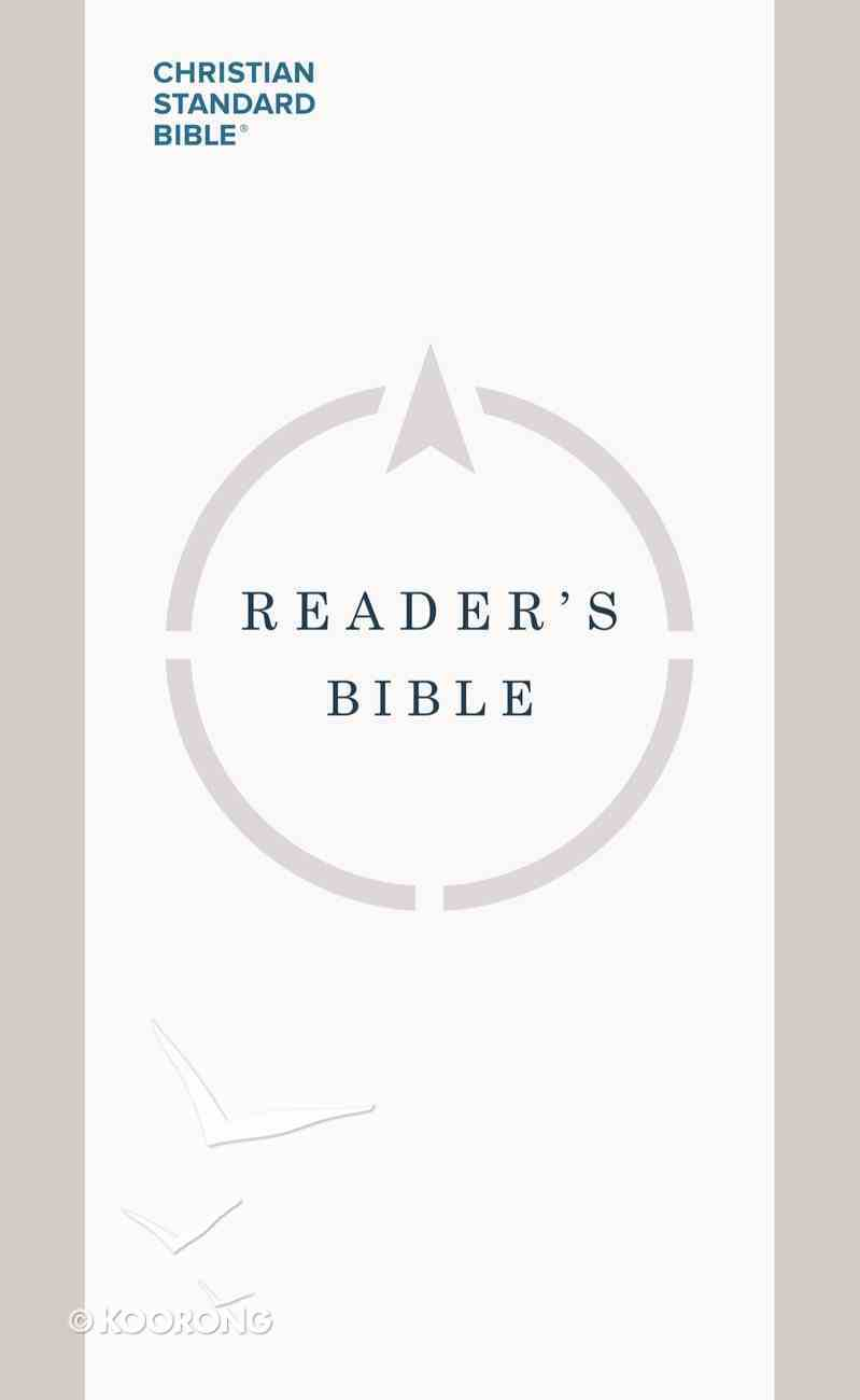 CSB Reader's Bible eBook