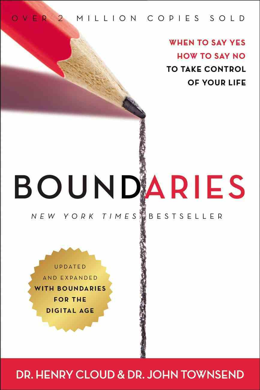 Boundaries: When to Say Yes, How to Say No to Take Control of Your Life (Unabridged, 9 Cds) CD