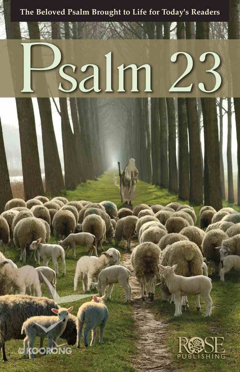 Psalm 23 (Rose Guide Series) Pamphlet